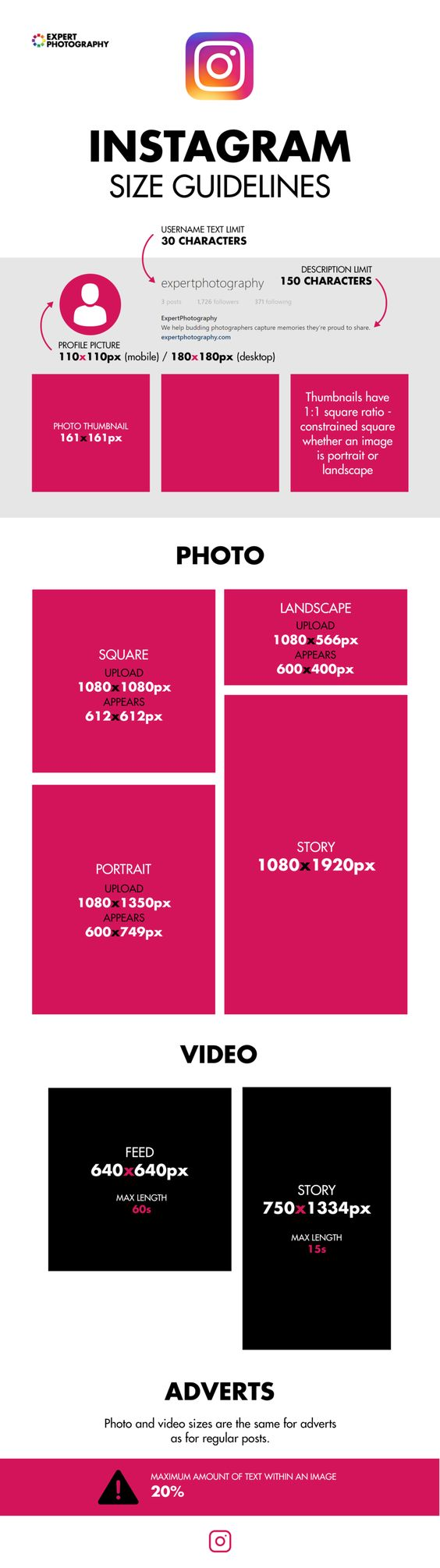 instagram photo size guide